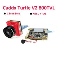Caddx Turtle V2 800TVL 1.8mm Lens 1080p 60fps NTSC/PAL Switchable HD Mini FPV Camera w/ DVR For FPV Drone Model Quadcopter