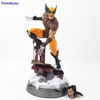 Marvel X Men Dowin Wolverine Figure X Men Action Figure 1/6 Scale Logan Figurine PVC Figuras de Accion Toys For Children XPC