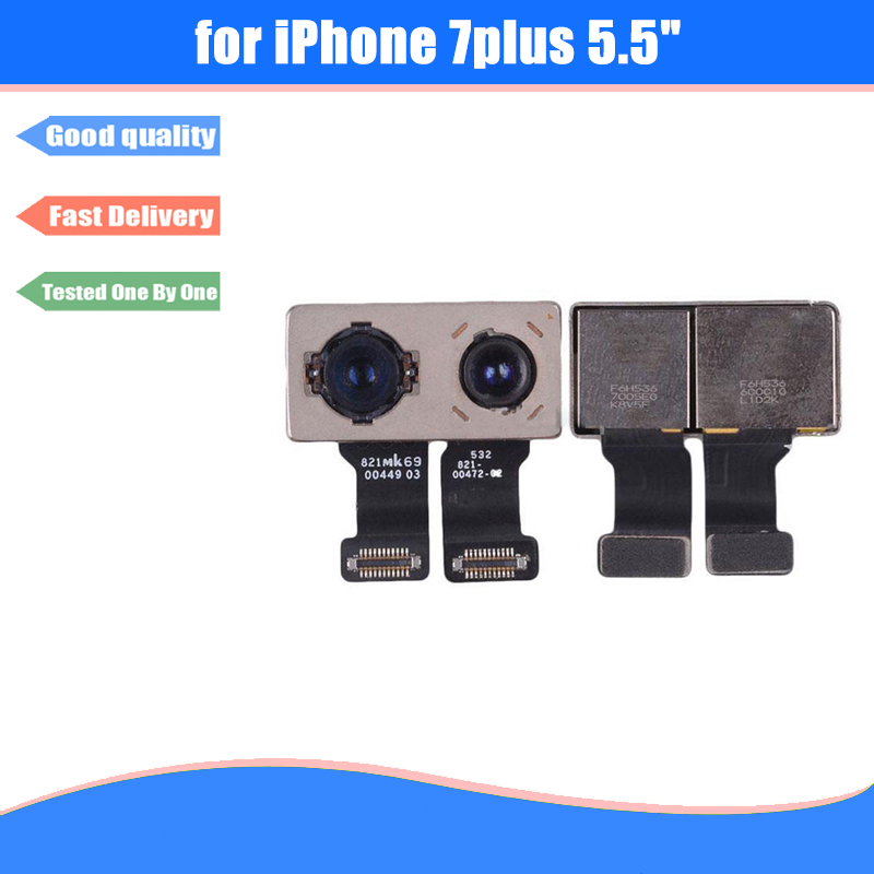 For iPhone 7 Plus 5.5 Original New Back Rear Camera Module Flex Ribbon Cable Replacement Repair Parts
