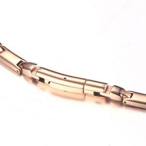 Image 4 - ZORCVENS 2020 חדש ארוך מגנטי שרשרת לנשים 6mm רוחב נירוסטה בריאות תכשיטים