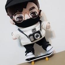 Кукла скейтборд для 1/8 BJD got7 кукла аксессуары 20 см кукла использовать маски очки