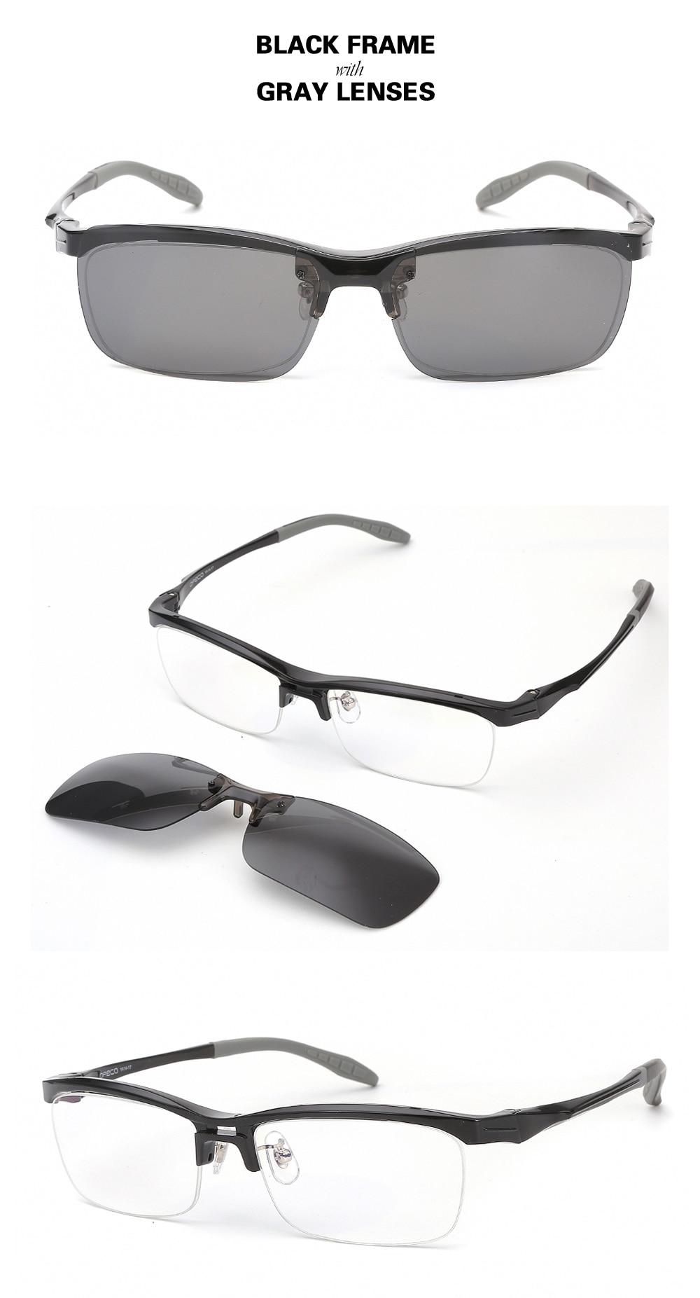 6c37fd4b15 Chashma marca calidad superior TR 90 gafas de diseñador gafas ópticas de  moda monturas gafas deportivas con Clips polarizados lentes. Uqs para  lentes de ...
