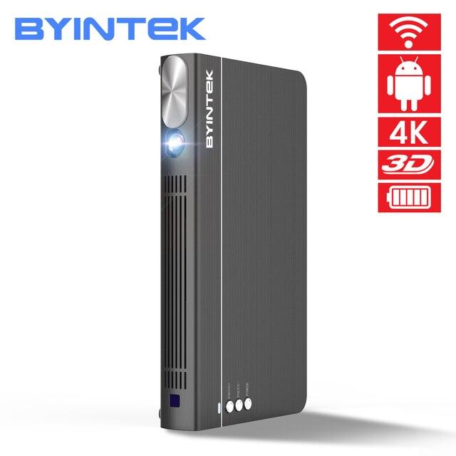 BYINTEK UFO P12 300inch Smart 3D WIFI Android Pico Pocket HD Portable Micro Mini LED DLP