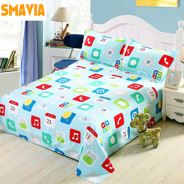 Delicieux SMAVIA Wholesale Bed Sheet Set 100% Polyester Home Textile 1pc Bed Flat  Sheet+2