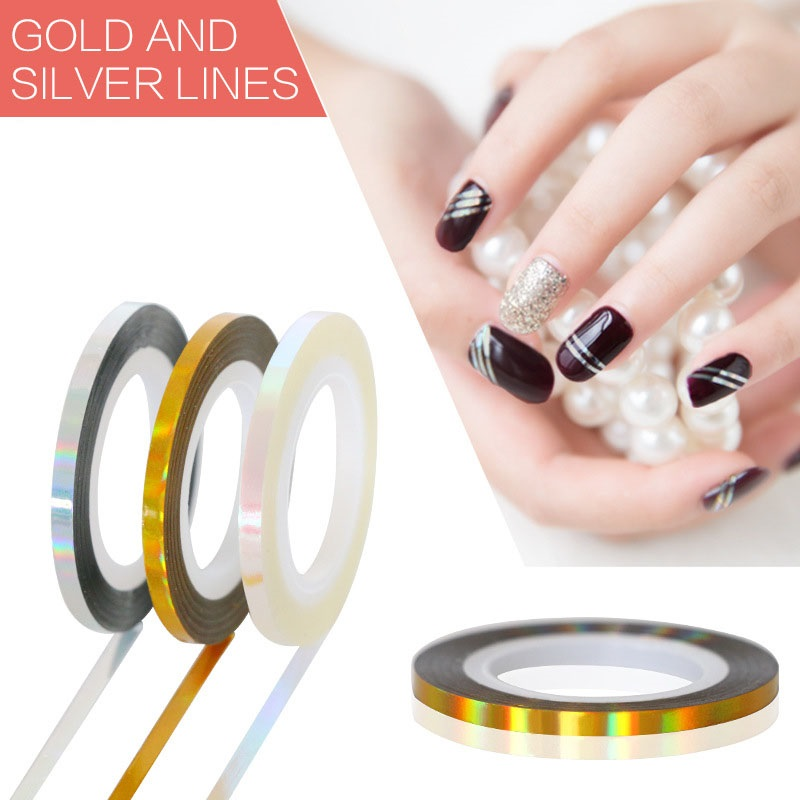 Nail Striping Tape Walmart: Aliexpress.com : Buy ELESSICAL 6pcs 1mm/2mm/3mm Mixed DIY