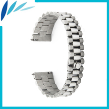 Stainless Steel Watch Band 18mm 20mm 22mm for Casio BEM 302 307 501 506 517 EF MTP Quick Release Strap Wrist Loop Belt Bracelet