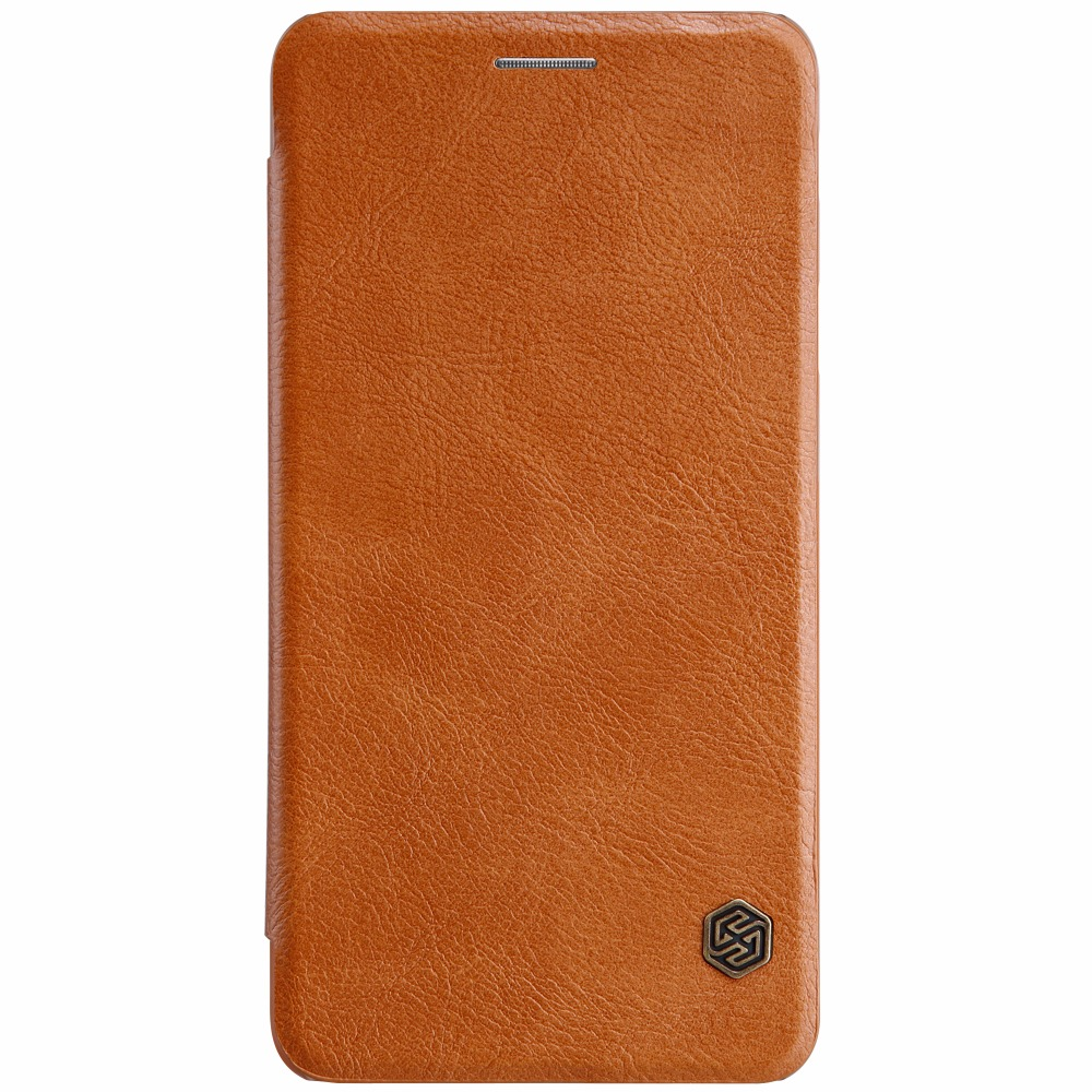 NILLKIN QIN Series Leather Case For Samsung Galaxy J7 max J7max Luxury Brand Cover For Samsung Galaxy Galaxy J7 max wallet case