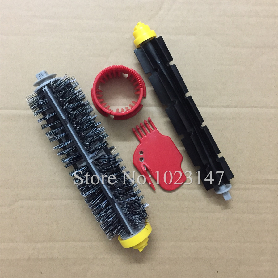 Bristle Beater Brush kit Clean Brushes replacement for iRobot Roomba Cleaner 600 700 Series 760 770 600 620 650 660 side brush bristle brushes kit for irobot roomba 600 700 series 760 770 780 790 vacuum cleaner parts replacement brushes