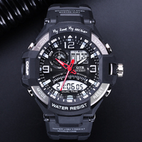 OTS 2017 Men Watches Waterproof Army Military WristWatches Luxury Brand Mens Electronic Digital Sports Clock Analog
