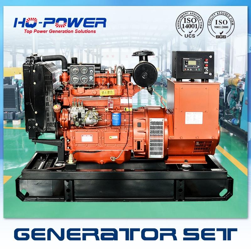 Мощность человек генератор 40kw 50kva Шаньдун weifnag генерации дизельный двигатель
