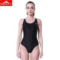 SBART Women's One Piece Suits Swimwear Sleeveless Cross Back Swimsuit Shark Skin Swimming Rafting Watersport One Piece Suits