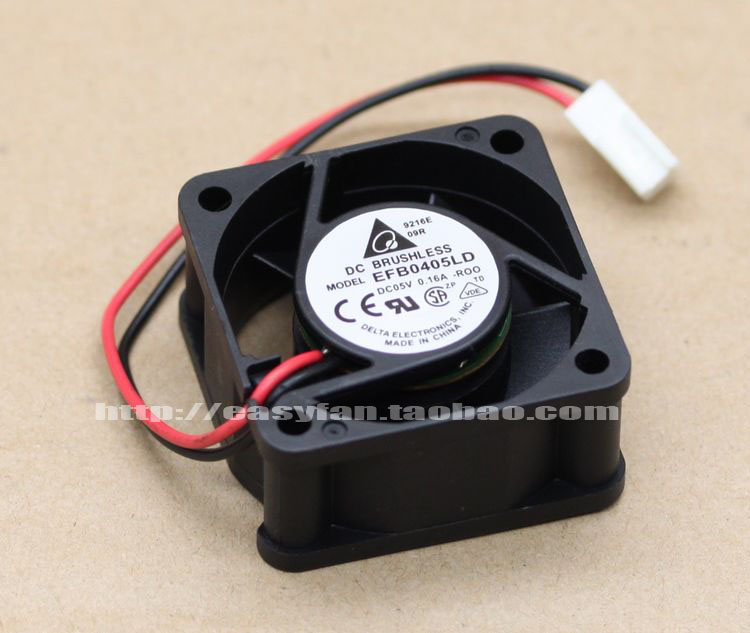 Delta EFB0405LD R00 DC 5V 0.16A 40x40x20mm Server Square fan ...