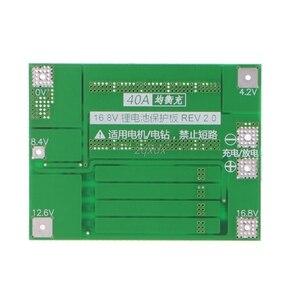 Image 3 - 4S 40A 14.8V Li ion 16.8V Lithium 18650 Pin BMS PCB Ban Bảo Vệ Cân Bằng