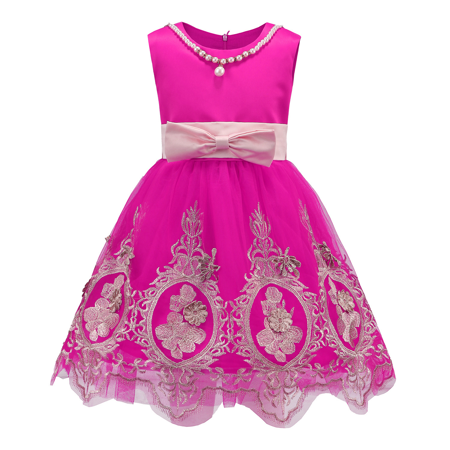 Baby Girls Dress Lace Princess 2017 Summer Spring Princess Deguisement Beautiful Pretty Girl Dresses For 3-9 Years Old robe cleopatre deguisement