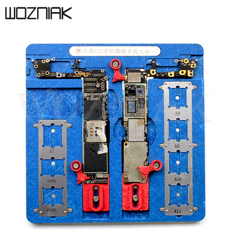 High Temperature Resistant PCB Motherboard Test Fixture Jig Holder Maintenance Repair Platform For iPhone 8 8P 7 7P 6 6S 5 5s high temperature resistant pcb motherboard test fixture jig holder maintenance repair platform for iphone 8 8p 7 7p 6 6s 5 5s