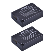 2 pièces LP E17 LP E17 LPE17 Lion batterie pour Canon EOS M3 M5 760D/800D/Kiss 8000D/rebelle T6s 750D/Kiss X8i/rebelle T6i/M3