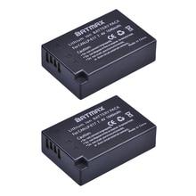 2Pcs LP E17 LP E17 LPE17 Lion Battery for Canon EOS M3 M5 760D/800D/Kiss 8000D/Rebel T6s 750D/Kiss X8i/Rebel T6i/ M3