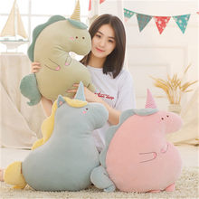 BABIQU 1pc 50cm Unicorn Pillow Sleeping Plush Toy Soft Cushion Stuffed Animal Noble Horse Kawaii Cute Gifts For children Friends(China)