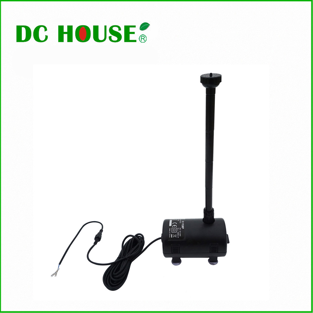 Eco-Worthy Water Pump 12-24V DC Solar Power Submersible Fountain Pond Brushless Water Pump, solar pump solar aquarium pump water pump solar solar deep well pump solar water fountain pump