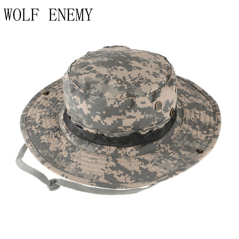 110da83fe US $5.92 49% OFF|Aliexpress.com : Buy High Quality Tactical Airsoft Sniper  Camouflage Boonie Hats Men and Women Outdoor Mountaineering Cap Military ...