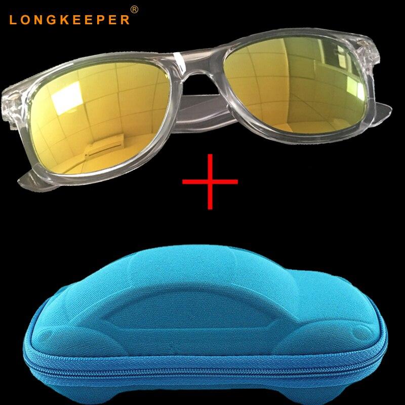 e0f23c784 2018 جديد أزياء الأطفال النظارات الشمسية بنين بنات أطفال الطفل الطفل نظارات  شمسية نظارات UV400 مرآة نظارات مع مربع LongKeeper في 2018 جديد أزياء الأطفال  ...