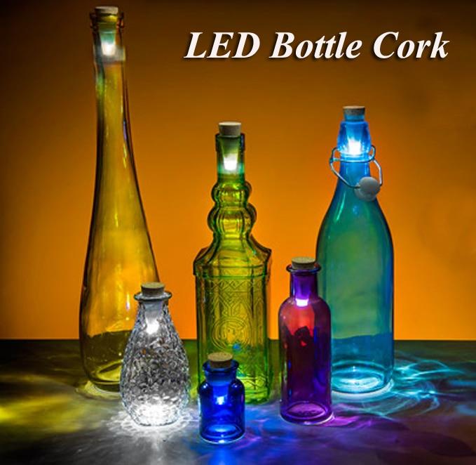 Originality Light Cork Shaped Rechargeable Usb Bottle