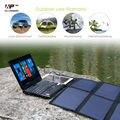 40 w carregador solar carregador de painel solar portátil para o iphone ipad macbook samusng huawei dell hp acer lenovo hp e mais.