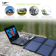 40W Solar Charger Portable Solar Panel Charger for iPhone Samusng Huawei Xiaomi Blackberry iPad Dell HP Acer Lenovo Hp and more.