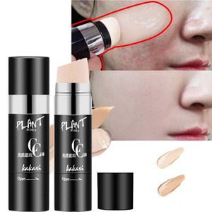Face Foundation Air Cushion Concealer Cream Stick Smooth Make Up Base Liquid Brighten Waterproof Natural Makeup BB Cream