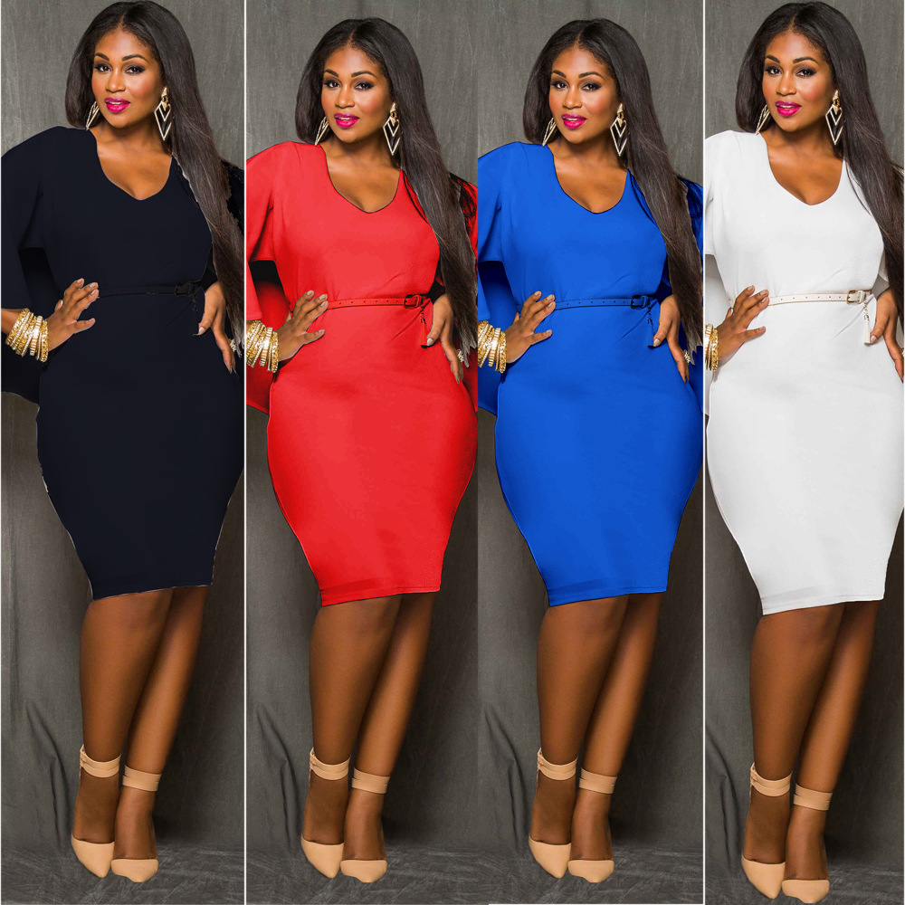 Mirsicas midi dress 4 colors sexy bodycon slim dress - M I R S I C A S d6cdc6fa1358