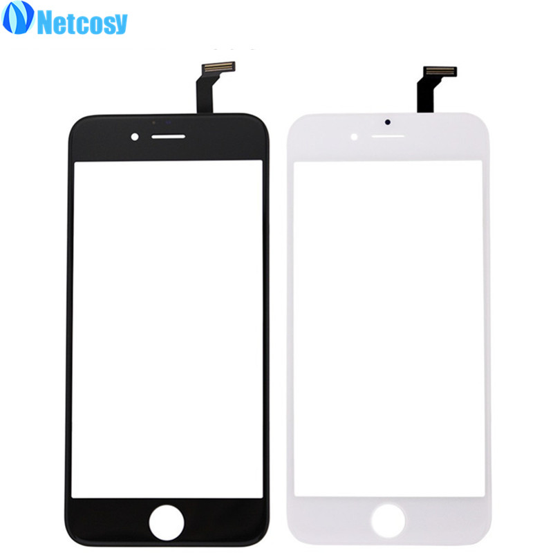 Netcosy Touch Screen Digitizer Front Touch Panel Display Glass Lens TouchScreen for iphone 6 6G Replacement Phone Accessories