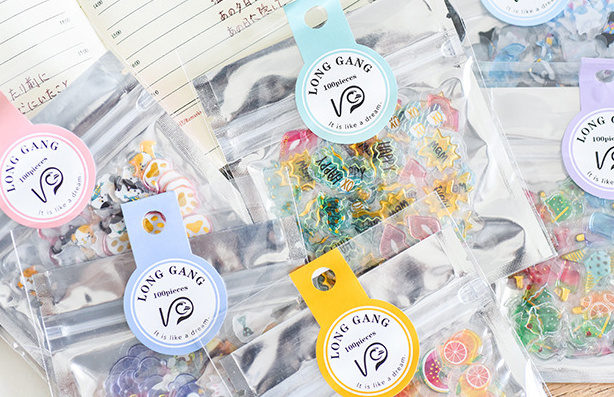 Creative crystal stickers diy decoration Diary Book Planner sticker for album scrapbooking Decoration papeleria sale