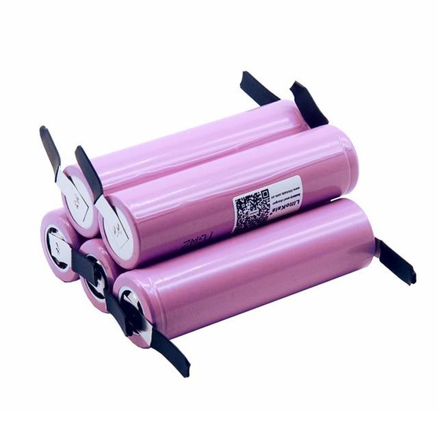50pcs New 100 Original Liitokala 18650 2600mAh battery ICR18650 26FM Li ion 3 7 V rechargeable