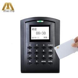 Биометрические 13,56 МГц карт IC доступа Управление с клавиатурой TCP/IP Изолированная Дверь доступа Управление и рабочего времени SC103