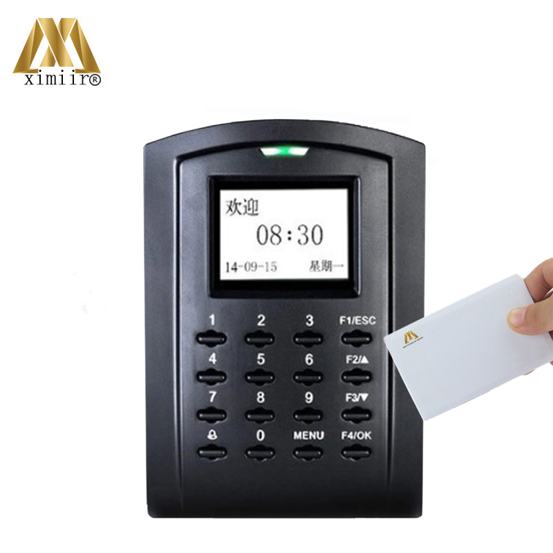 Biometric Card Access Control  SC103 With Keypad TCP/IP Standalone 13.56MHZ IC Card Door Access Control And Time Attendance