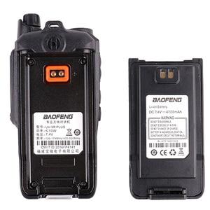 Image 4 - 2pcs wakie talkie IP67 Dustproof Waterproof CB Radio Communicator baofeng uv 9r plus for hf  2 way ham radio kit police scanner
