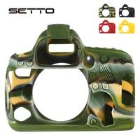 SETTO Soft Silicone Rubber 6d2 Camera Protective Body Case Skin For Canon 6D Mark II DSLR Camera Bag protector Cover