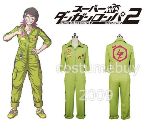 Anime Super Dangan Ronpa 2 Danganronpa Kazuichi Souda Cosplay Costume Jumpsuit Halloween Carnival Costume Custom Made