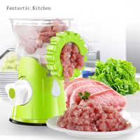 Manuellen fleischwolf haushalt küche fleischwolf Fleischwölfe für Küche Werkzeug Cutter Slicer fleisch Geflügel Werkzeug