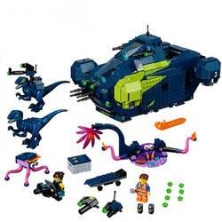 Фильмы 2 Rex's Rexplorer Строительные кирпичи развивающие игрушки на день рождения для детей Подарки