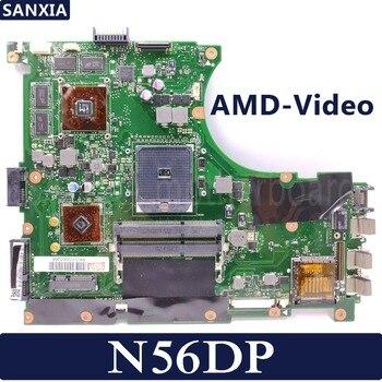 KEFU N56DP Laptop motherboard for ASUS N56DP N56DY N56DR N56D N56 original mainboard 100%Test AMD-Video card