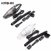 120W Portable Car Vacuum Cleaner Wet And Dry Dual Use Auto Cigarette Lighter Hepa Filter 12V