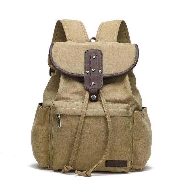 """Крест быка модный рюкзак из парусины стильные рюкзаки для женщин 14 """"сумки для ноутбука сумка-мешок для школы сумка для мужчин дорожные сумки Mochila BK8009"""