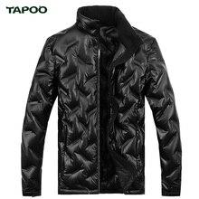 TAPOO Fashion Leisure Jacket Winter Men Coat Warm Down Jacket Parka Men Jackets Men Lightweight High Density Fiber