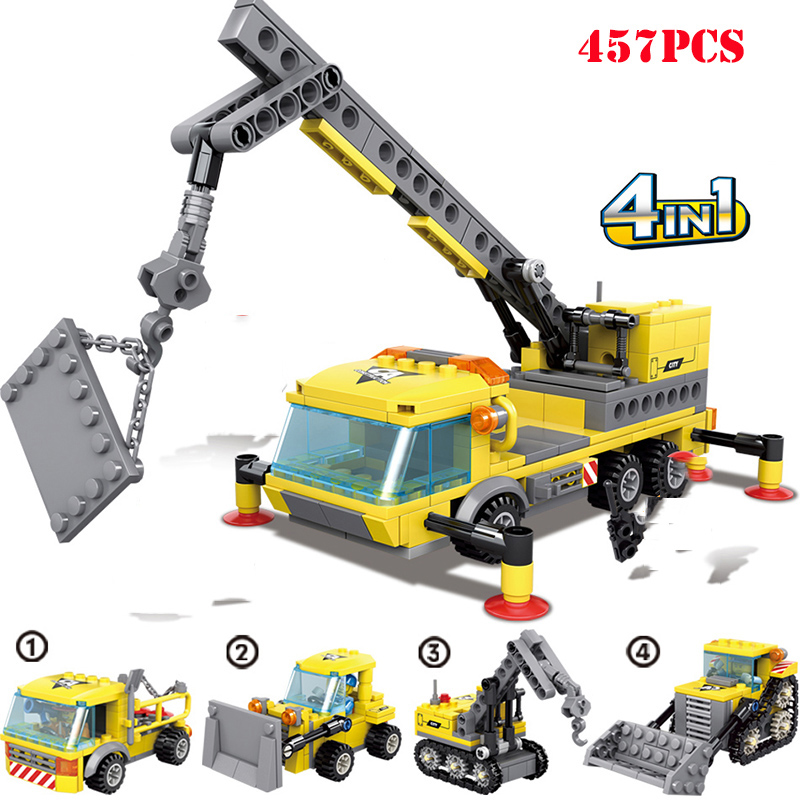 4-in1-City-Construction-Engineering-Excavator-Vehicles-Bulldozer-Building-Blocks-Technic-Bricks-Children-Educational-Toys-Gifts