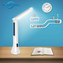 Portable 2in1 Multifunctional charging Foldable Desk Lamp flashlight Camping Solar charging / power line charging LED Torch Lamp