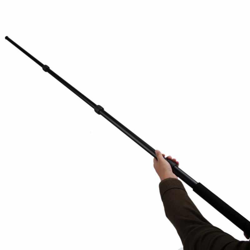 Анодированный алюминиевый раздвижной стрела полюс микро микрофон полюс держатель микрофона 3 секции 67,5 дюймов Расширение записи аксессуары