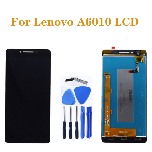 5.0 inches for Lenovo A6010 LCD+ touch screen display digital converter replacement for Lenovo a6010 display repair parts+tools