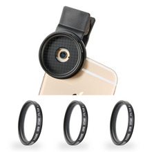 Zomei Pro Mobile Phone Filter 37mm 4 / 6 / 8 Point Star Filters Camera filters with clip for Huawei for Samsung for Xiaomi Phone