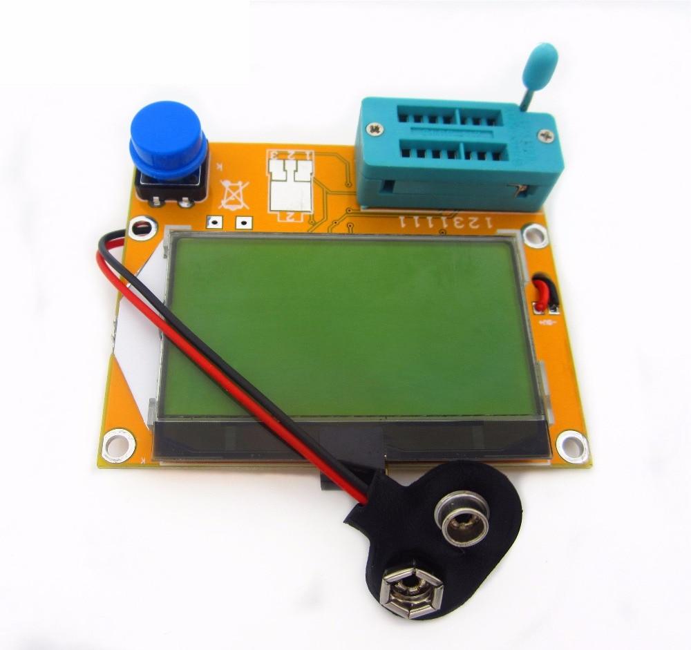 Mega328 M328 LCR-T4 ESR Meter LCR led Transistor Tester diodo Triode capacitancia MOS PNP/NPN